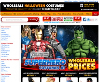 Wholesale Halloween Costumes Cashback
