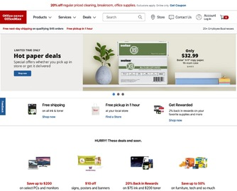 Office Depot and OfficeMax Cashback