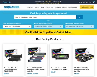Supplies Outlet Cash Back