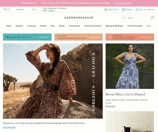 Anthropologie Cashback