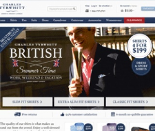 Charles Tyrwhitt UK Cash Back