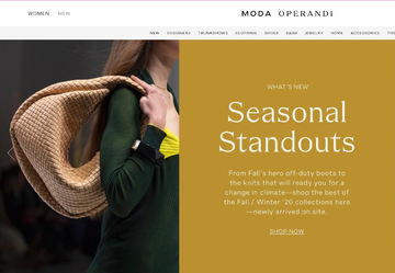 Moda Operandi Cash Back