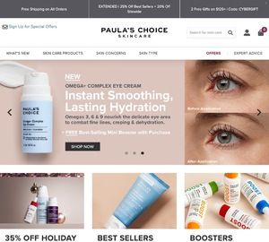 Paula's Choice Skincare Cash Back
