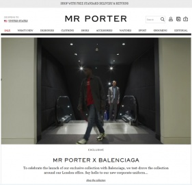 MR PORTER Cash Back