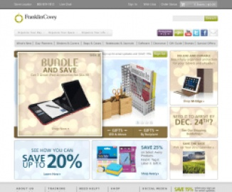 Franklin Planner Cash Back