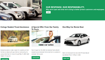 Enterprise Rent-A-Car Cashback