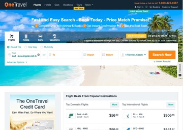 OneTravel Cash Back