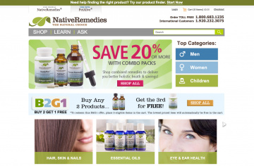 Native Remedies Cashback