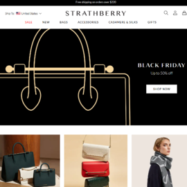 Strathberry Cash Back