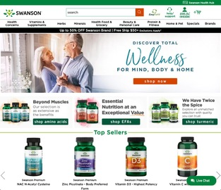 Swanson Health Products Cash Back