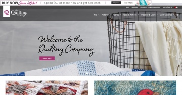 The Quilting Company  Cash Back