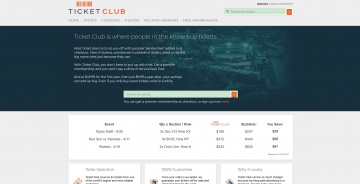 Ticket Club Cashback