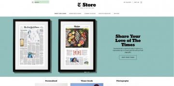 The New York Times Store Cashback