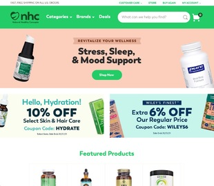 Natural Healthy Concepts Cashback
