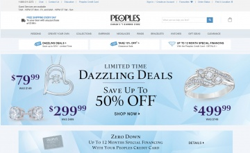Peoples Jewellers 現金回饋