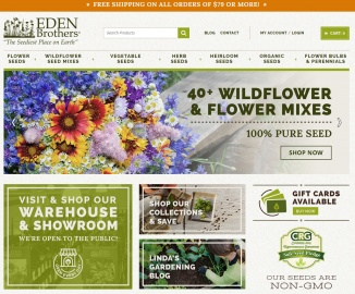 Eden Brothers Seed Company Cashback