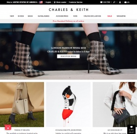 Charles & Keith Cashback