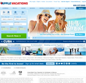 Apple Vacations Кэшбэк