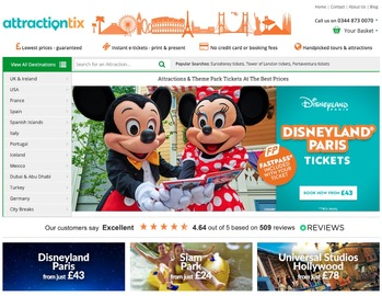 Attractiontix Cashback