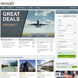 Woosh Airport Extras 現金回饋
