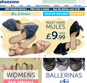 Shoe Zone Cashback