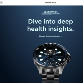 withings 現金回饋