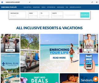 Sandos Hotels & Resorts Кэшбэк