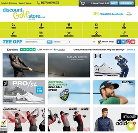 Discount Golf Store Cashback