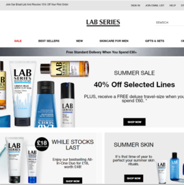 Lab Series UK Cashback