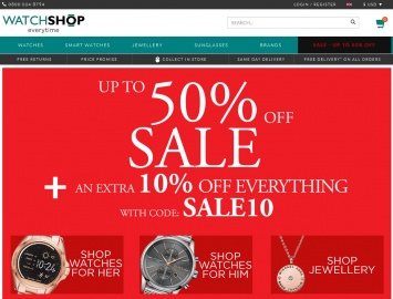 Watch Shop Cashback